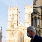 EU chief negotiator Michael Barnier attended the talks in central London on Thursday. Photo:...