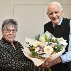 Elisabeth Haggie celebrates her 90th birthday and husband George his 92nd at the Mosgiel RSA on...