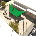 Concept render option for Clutha District Council's new ''destination toilets'' in Balclutha: The...