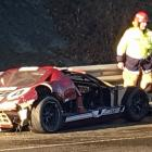 Andrew Earl estimates he caused $30,000 damage to his replica Ford GT40  in a crash on the...