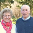 James Guild, pictured with his wife, Anna, has stepped down after nine years as QEII National...