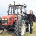 Cut above . .. Otago Field Days chief executive Paul Mutch mows the grass at the yards in the...
