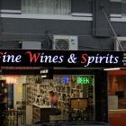 Fine Wines & Spirits in George St was burgled. Photo: Google