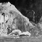 Ice cliffs, Franz Josef Glacier, South Westland. — Otago Witness,14.9.1920.