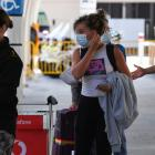 Recently arrived passengers at Sydney International Airport. Photo: Getty