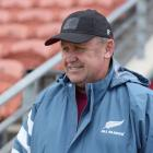 All Blacks coach Ian Foster at training this week. Photo: Getty Images