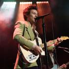 Harry Styles performs live on stage at iHeartRadio Secret Session in February this year. Photo:...