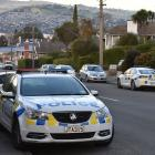 A man was arrested in Hawthorn Ave, Dunedin, on Saturday, after allegedly threatening a person he...