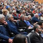Former prime minister Helen Clark speaks about peace in the age of Covid-19, during the annual...