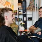 Christchurch student Roy Ford (left) has joined Invercargill firefighters for this year's Mullets...