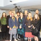 He Waka Tuia Art + Museum staff at the transitional museum's opening in Invercargill last week....