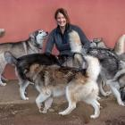 For more than 10 years Michelle Attwood has been rescuing and rehoming huskies through her...