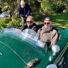 Edith Cavell Lifecare and Village resident Denis Stanton was taken for a drive in a classic...