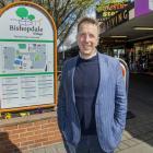 David Cartwright at Bishopdale Village mall. Photo: Geoff Sloan 