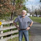Abell Rentals founding director Allan Scott stands outside his property where he is currently...