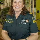 Former Redcliffs woman Jane Potts has been volunteering for St John Darfield for eight years....