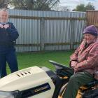 Ray Jane's unusual transport attracted the attention of Napier Community Constable Sophia...