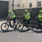 Constable Kerrin Williams, Constable Stewart Thomas, and Senior Constable Ruth Parsons. Photo:...