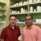 Associate Prof Daryl Schwenke (left) and Associate Prof Rajesh Katare. PHOTO: GREGOR RICHARDSON