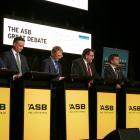 Pictured during the Queenstown Chamber of Commerce's ASB The Great Debate in the resort last...