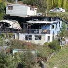 Tenants of a building in Queenstown are now homeless after a fire destroyed the Huff St property...