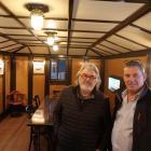 Wakatipu Community Preservation Society secretary Jeff Williams (left) and trustee Steve Kirk in...