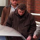 Gareth Smithers leaves court after appearing on murder charges in 1997. PHOTO: ODT FILES