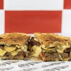 Hungry Hobos' Bat Out of Hell sandwich — the winner of the annual Great New Zealand Toastie...