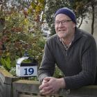 Tim Barlow is enjoying his artist residency at Otago Polytechnic. PHOTO: GERARD O'BRIEN