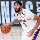 Anthony Davis is expected to re-sign with the Los Angeles Lakers. Photo: Getty Images