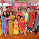 Members of the Dunedin Bengali community celebrate Durga Puja and the Autumn Festival at the...