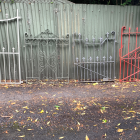 The returned gates. Photo: Supplied