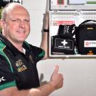 Green Island Rugby Football Club manager Gareth Weatherston is happy to see the return of the...