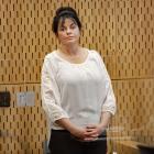 Lisa Larkin appearing in court for sentencing. Photo: Geoff Sloan
