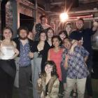 The Critic Te Arohi team celebrates a successful night at the Aotearoa Student Press Awards in...