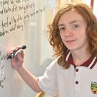 Logan Park High School pupil Aubrey Alsop Mackie has achieved the top mark in New Zealand for the...