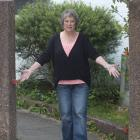 Pacific St, Dunedin, resident Phyll Esplin ponders the theft of her hefty wrought-iron gate....