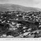 Kaikorai Valley and Wakari, viewed from Roslyn, with Flagstaff in the background. — Otago Witness...