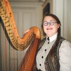Christchurch Symphony Orchestra principal harpist Helen Webby. PHOTO: SUPPLIED