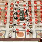 Consistory ceremony to install 13 new cardinals, at the Vatican. Photo: Reuters