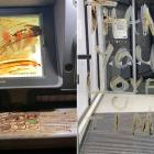 A man who made a late-night trip to the ATM has been left feeling sick after he discovered faecal...