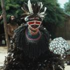 A historical image of a witchdoctor in Bulawayo in what was then Rhodesia (now Zimbabwe). Photo:...