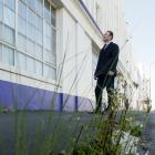 Independent commissioner Gary Rae visits the old Cadbury factory site in Cumberland St, Dunedin,...