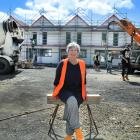 Toiora High Street Cohousing unit owner Gay Buckingham is looking forward to moving into her new...