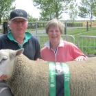 Ashburton farmers Paul and Kay Gardner won the 