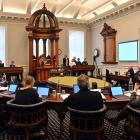 Most councillors spoke strongly in support of declaring the emergency at the full council meeting...