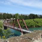 Celebrations were held in 2015 to mark the centenary of  Luggate's Red Bridge. Photos: Kerrie...