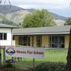 Hawea Flat Primary School waiting for new classrooms. PHOTO: MARK PRICE