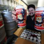Andrew Childs, of Behemoth Brewing Company, is looking forward to not having a reason to make...