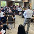 Members of the Fiordland community gathered to discuss the formation of a Fiordland Business...